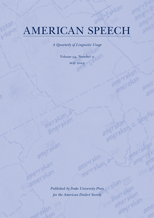 Cover photo of American Speech 94.2