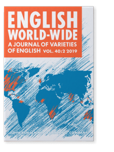 Cover photo of English World-Wide 40.2