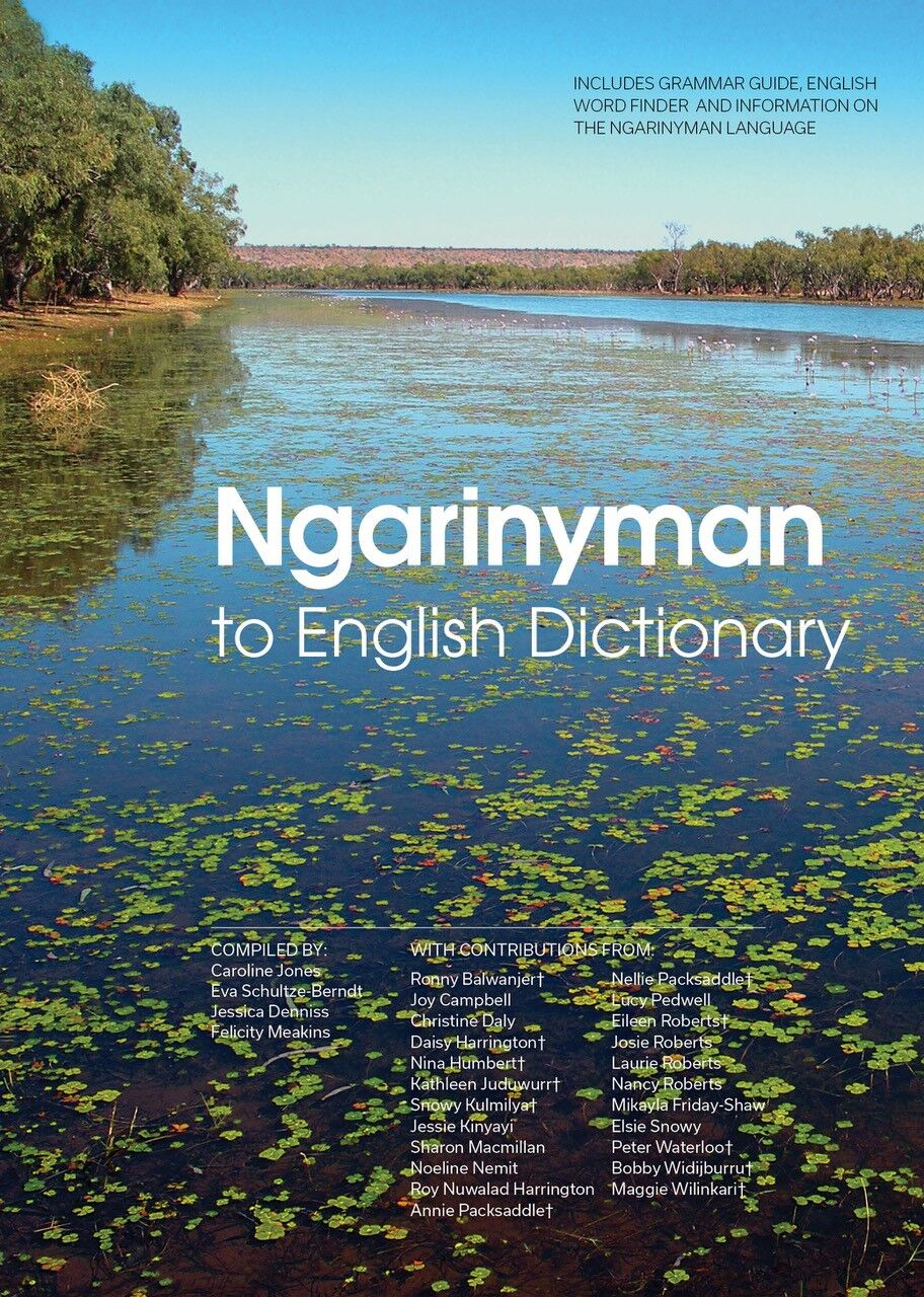 Cover photo of Ngarinyman to English Dictionary
